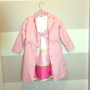 Little girls Gymboree jacket and dress size 5-6
